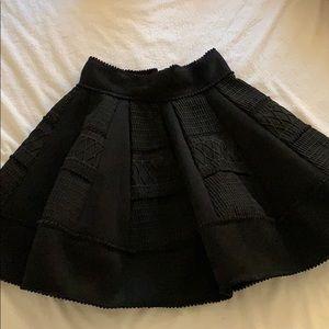 Maje black skirt.